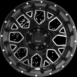 Full Throttle FT-0151 Black Wheels