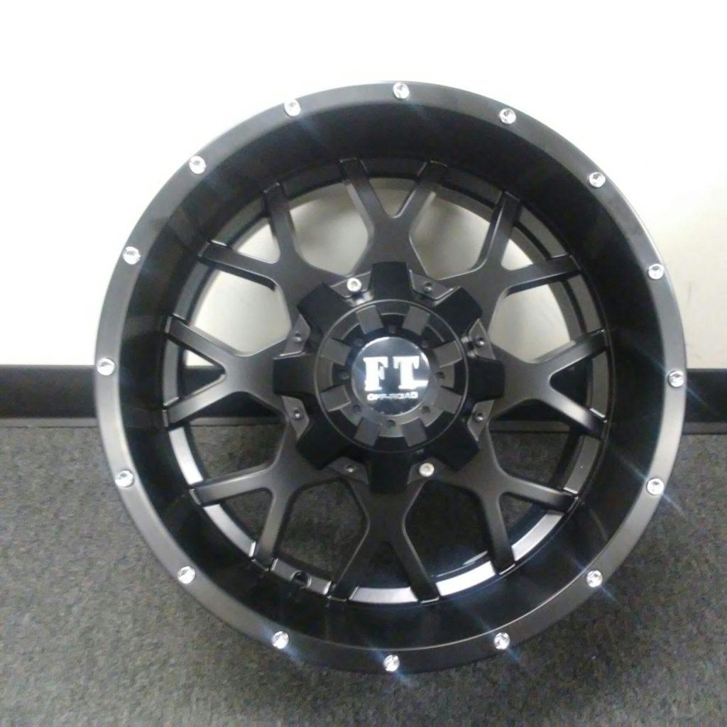 Full Throttle FT-0151 Satin Black
