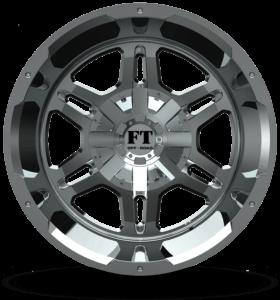 Full Throttle FT-3 Chrome Wheels