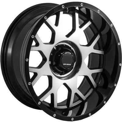 Full Throttle FT-0151 Machine Black Wheels