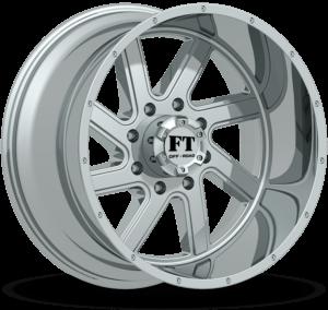 Full Throttle FT-1 Chrome Wheels