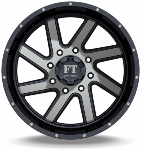 Full Throttle FT-1 Machine Black Wheels