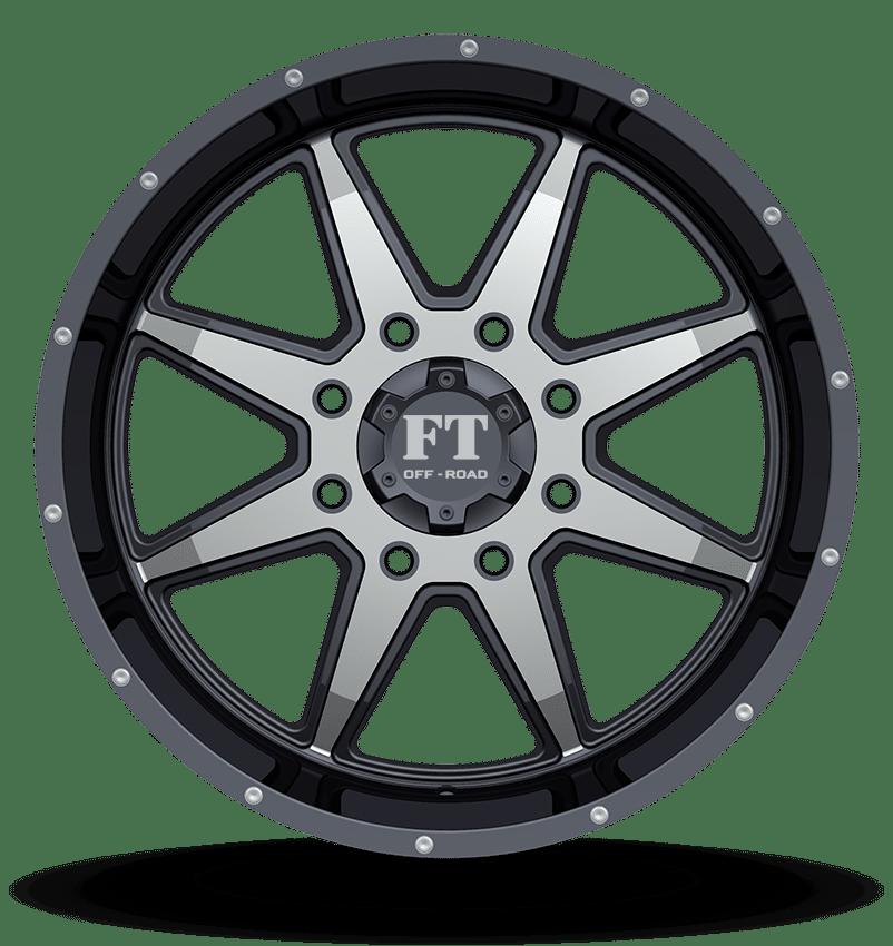 Full Throttle FT-2 Machine Black Wheels
