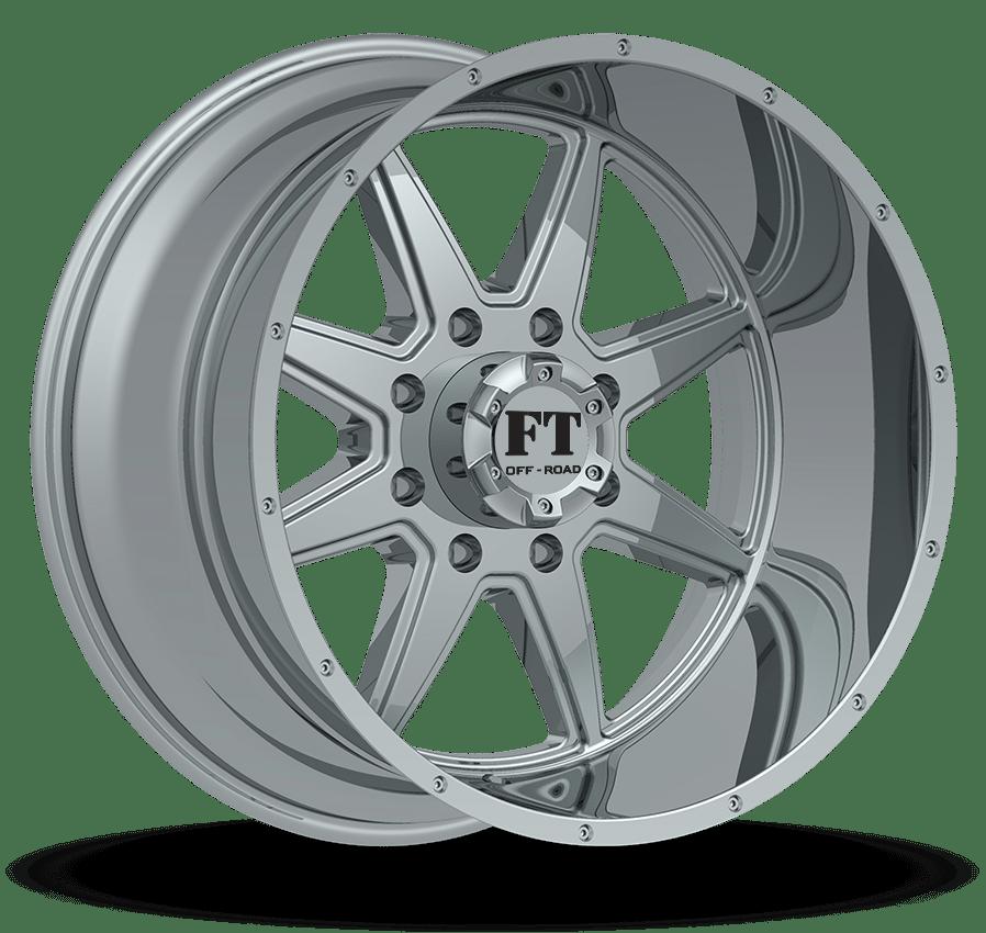 Full Throttle FT-2 Chrome Wheels