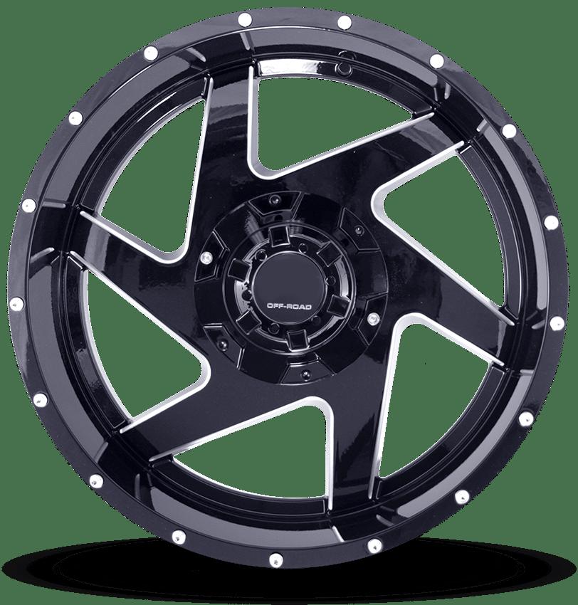 Full Throttle FT-6052 Black Milled