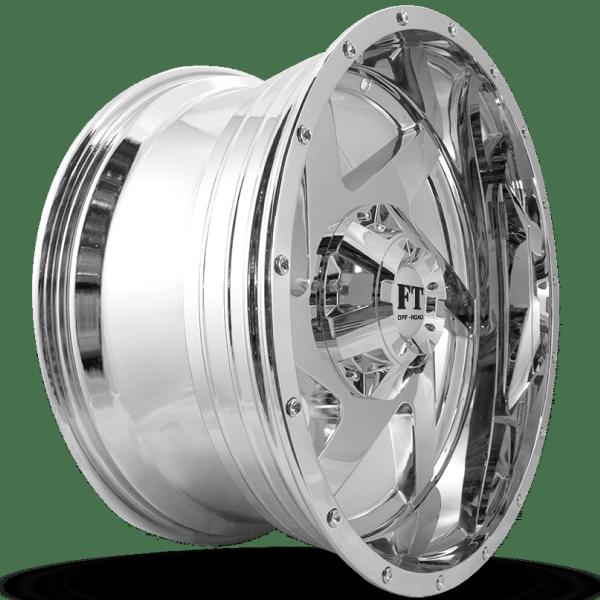 Full Throttle FT-6052 Chrome Wheels