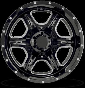 Full Throttle FT-6054 Black Milled