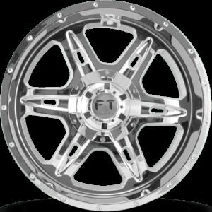 Full Throttle FT-6054 Chrome Wheels