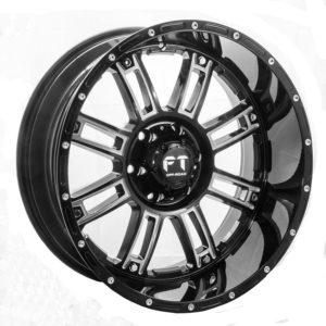 Full Throttle FT-8033 Black Milled