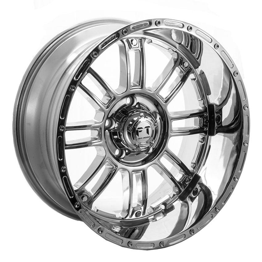 Full Throttle FT-8033 Chrome Wheels