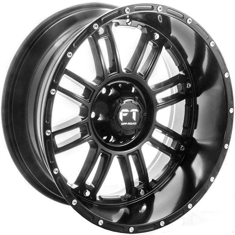 Full Throttle FT-8033 Matte Black