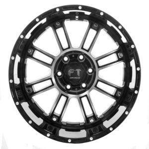 Full Throttle FT-8033 Black Machined