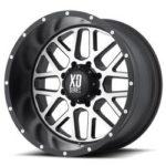 XD820 Machine Black Wheels