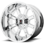 XD825 Buckshot Chrome Wheels