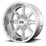 XD838 Mammoth Chrome Wheels