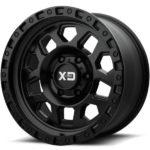 XD132 RG2 Satin Black Wheels