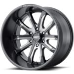 Moto Metal MO983 Dagger Satin Grey Milled Wheels