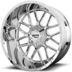 Moto Metal MO986 Siege Chrome Wheels