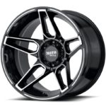 Moto Metal MO994 Gloss Black Machined Wheels