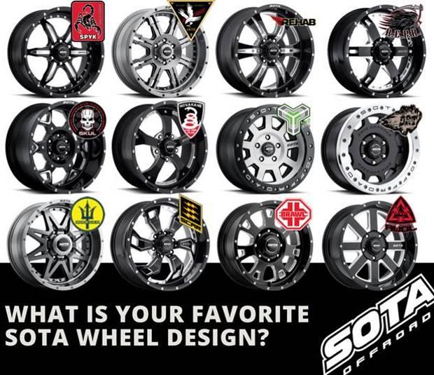 Sota Offroad Wheels