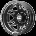 XD130 Machette Dually Rear Black Wheels