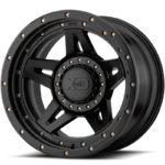 XD138 Brute Satin Black Wheels