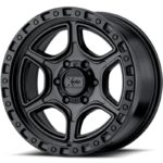 XD139 Portal Satin Black Wheels