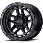XD140 Recon Satin Black Wheels