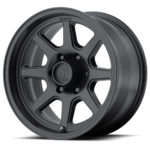 XD301 Turbine Satin Black Wheels