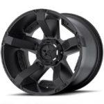 XD8 Rockstar 2 Matte Black Wheel