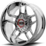 XD839 Clamp Chrome Wheels