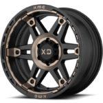 XD840 Spy II Satin Black Wheels with Dark Tint