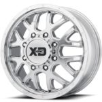 XD843 Chrome Dually Front