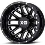 XD843 Gloss Black Milled Dually Rear