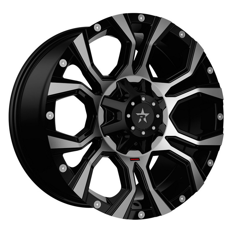 RBP 64R Widow Black Machined Wheels