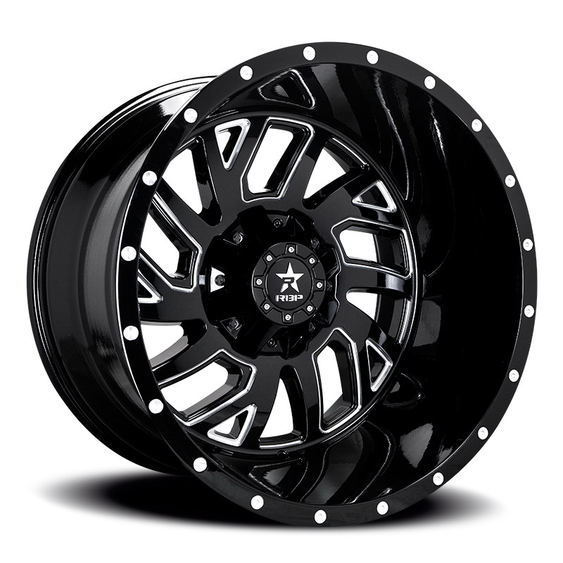 RBP 65R Glock Black Milled Wheels