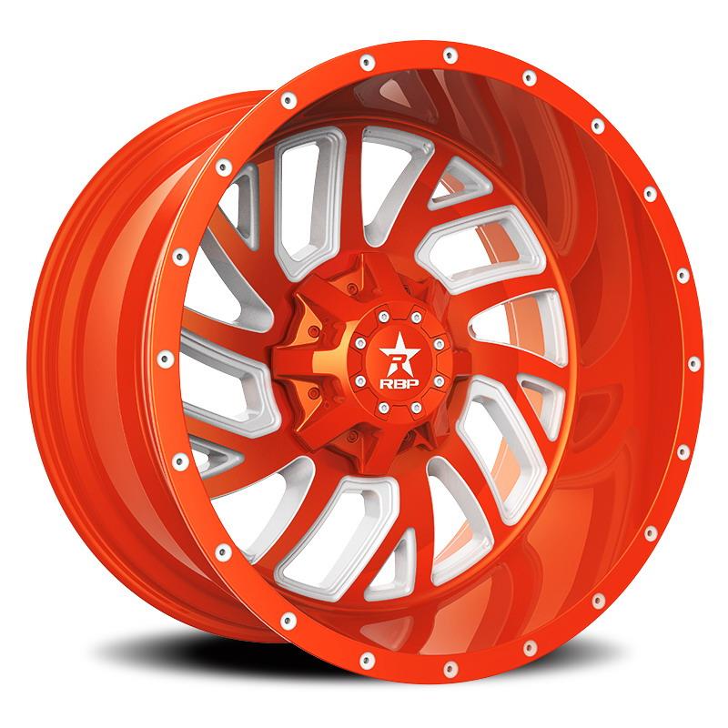 RBP 65R Glock Orange with White Accents