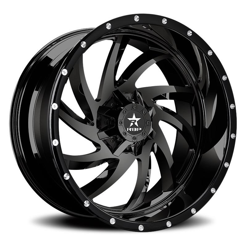 RBP 66R HK-5 Black Wheels