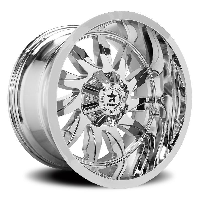 RBP 74R Silencer Chrome Wheels