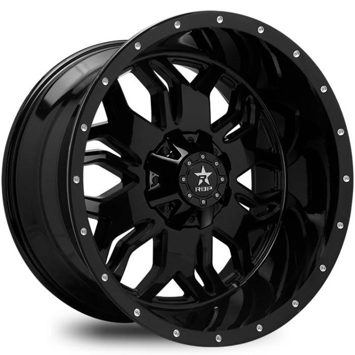 RBP 87R Blade Black Wheels