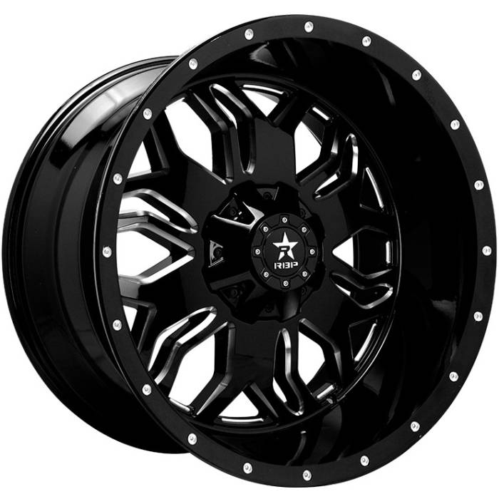 RBP 87R Blade Black with Machined Accents
