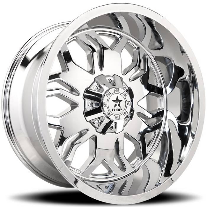 RBP 87R Blade Chrome Wheels