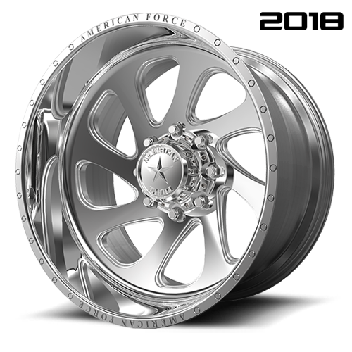 American Force CK05 Shiv CC Polished Wheels