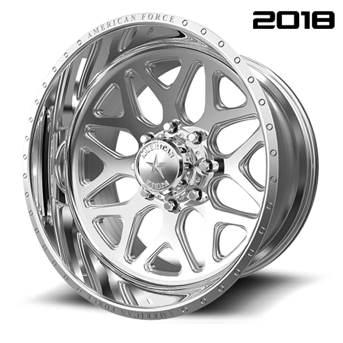 American Force CK08 Sprint CC Polished Wheels