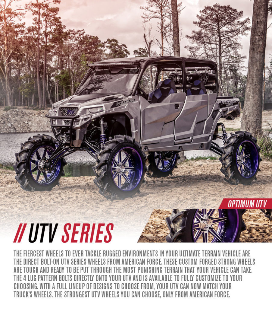 American Force UTV Series Wheels