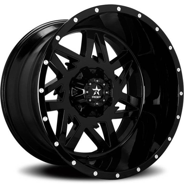 RBP 71R Avenger Full Black Wheels