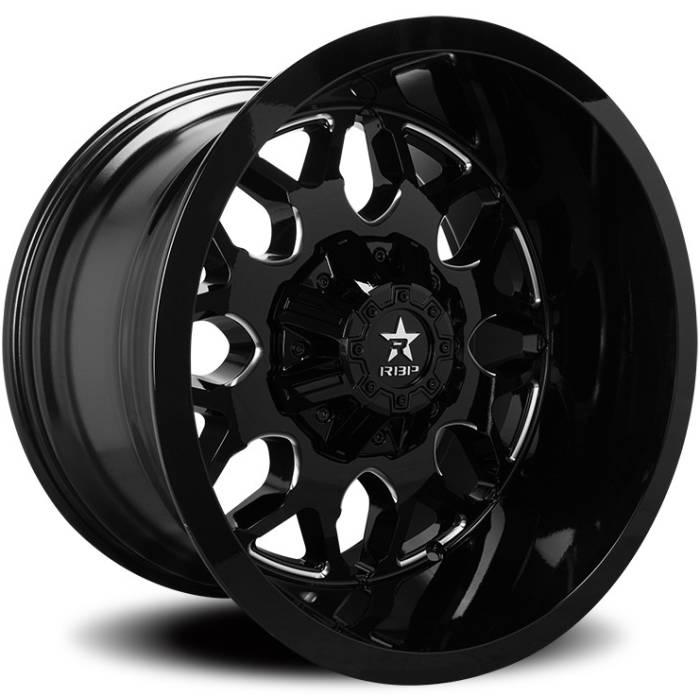 RBP 73R Atomic Black Milled Wheels