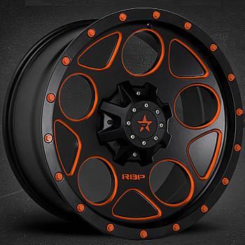 RBP 85R Voltage Black with Orange Accents
