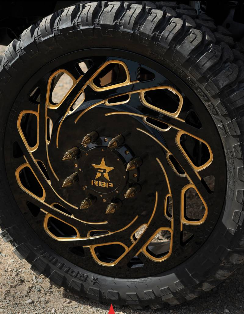 Rolling Big Power Wheels and Tires