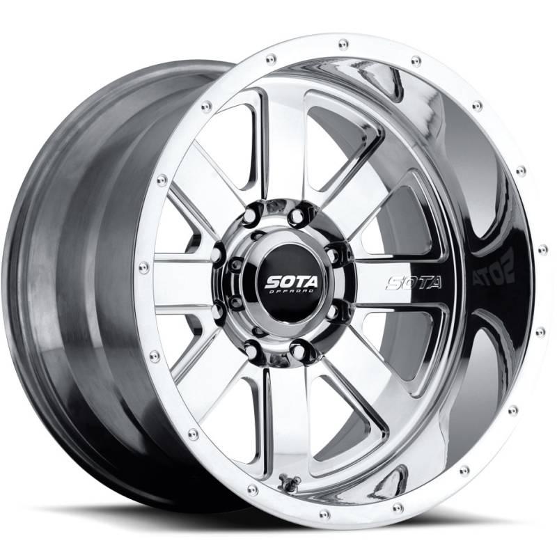 Sota Offroad A.W.O.L. Polished Wheels
